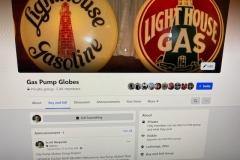 Join Gas Pump Globes on Facebook 5,600 members and growing