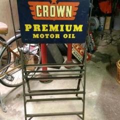 Crown Central Oil Rack