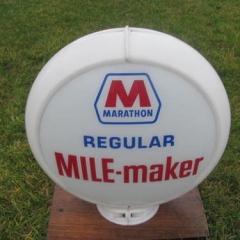 Marathon Mile Maker Gas Globe