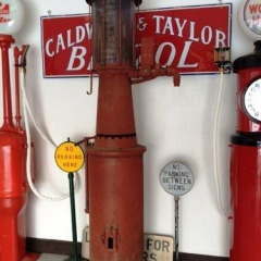 Rare Version Pipe Organ Gas Pump