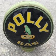 Rare Polly Gas Globe