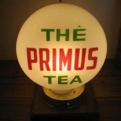Unique Etched Primus Tea/Coffee Globe