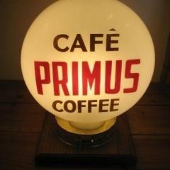 Unique Etched Primus Tea/Coffee Globe-Side Two