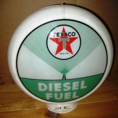 Texaco Diesel Fuel Gas Globe