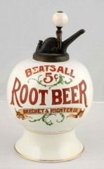 Rare Beat's All Root Beer Syrup Dispenser