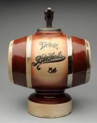 Rare Unusaul Birchola Barrel Syrup Dispenser