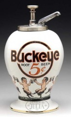 Buckeye Root Beer Syrup Dispenser