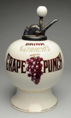 Very Rare Cannons Grape Syrup Dispenser