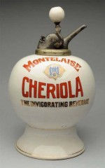 Rare Cheriola Syrup Dispenser