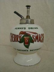 "Cherry Smash ""No Cherry"" Syrup Dispenser"