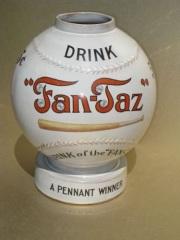 Rare Fan-Taz Baseball Shaped Syrup Dispenser