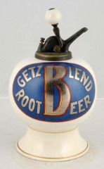Rare Getz Root Beer Syrup Dispenser