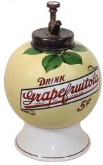 Grape Fruitola Syrup Dispenser