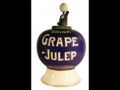Grape Julep Syrup Dispenser