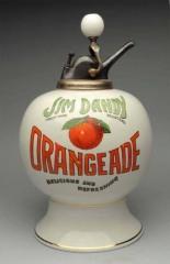 Very Rare Jim Dandy Orandeade Syrup Dispenser