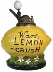 Lemon Crush Syrup Dispenser