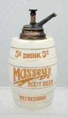 Masseys Barrel Syrup Dispenser