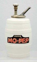 Mo-Pep Barrel Syrup Dispenser