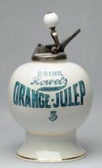 Very Rare Orange Julep Syrup Dispenser