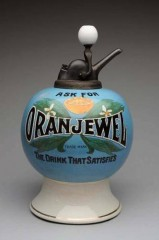 "Very Rare ""Oran"" Jewel Syrup Dispenser"
