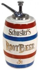 Schusteroot's Root Beer Syrup Dispenser