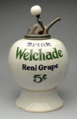 Welchade Real Grape Syrup Dispenser
